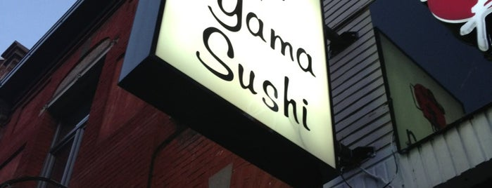 Yama Sushi is one of BE other.