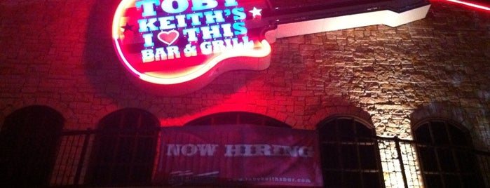 Toby Keith's I Love This Bar and Grill is one of Best of OKC Metro Area.