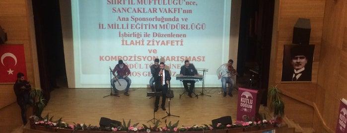 Siirt İl Kültür Merkezi is one of Locais curtidos por MEHMET YUSUF.