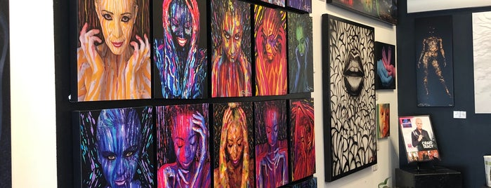 Craig Tracy's PaintedAlive Body Painting Gallery is one of New Orleans.