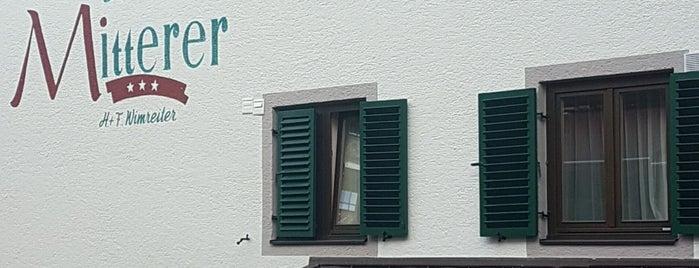 Hotel Mitterer is one of Saalbach-Hinterglemm.