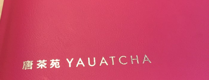 Yauatcha is one of Friday.