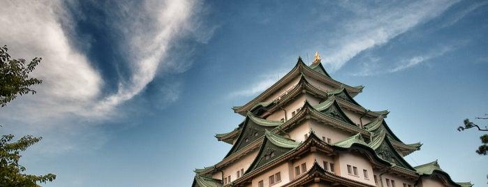 Nagoya Castle is one of Visit Nagoya.