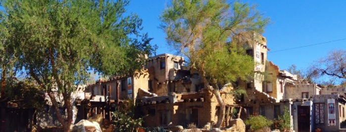 Cabot's Pueblo Museum is one of Desert Destinations.