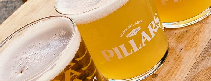 Pillars Brewery is one of London's Best for Beer.