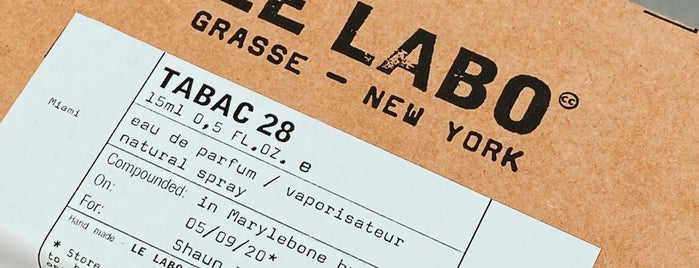 Le Labo is one of London🇬🇧.
