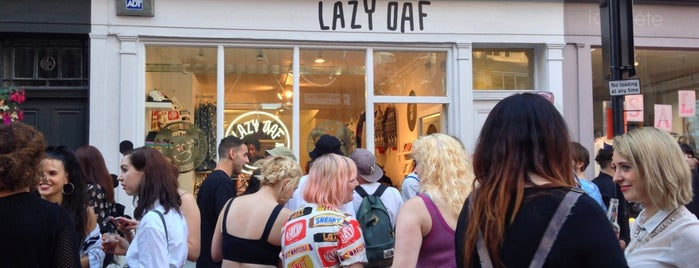 Lazy Oaf is one of London Not-Food Places.