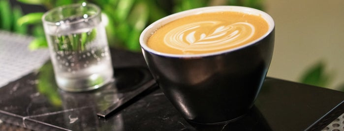 Voyager Espresso is one of 25 Top Coffee Shops in NYC.