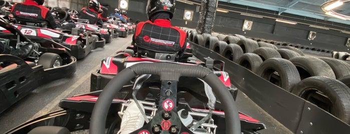 TeamSport Karting is one of London, UK (attractions).