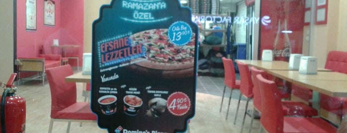 Domino's Pizza is one of muhteşemm bi  yer...