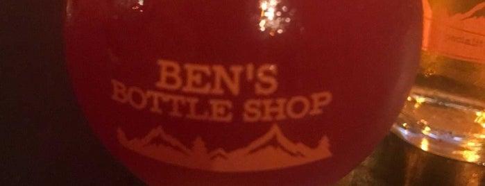 Ben's Bottle Shop is one of Lieux qui ont plu à Maggie.