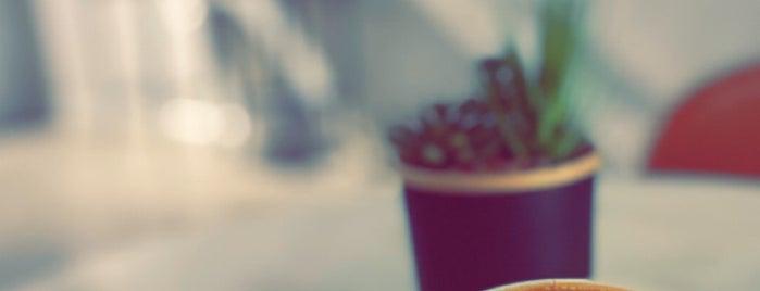 Brewing   Specialty Coffee is one of Coffee shops   Riyadh ☕️🖤.