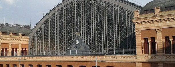 Estación de Madrid-Puerta de Atocha is one of 建築マップ ヨーロッパ.