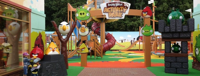 Angry Birds Park is one of Ада иго.