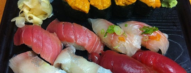 Geta Sushi is one of Sushi Quest.