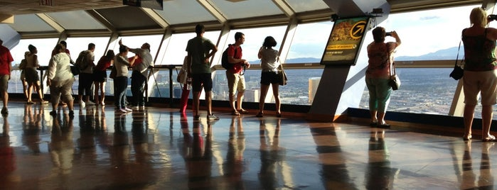 Stratosphere Tower Observation Deck is one of Posti che sono piaciuti a Karl.