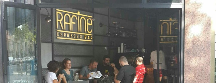 Rafine Espresso Bar is one of istanbul.
