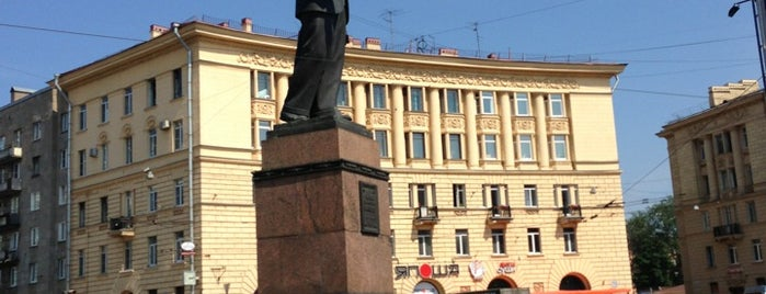 Площадь Калинина is one of новый.