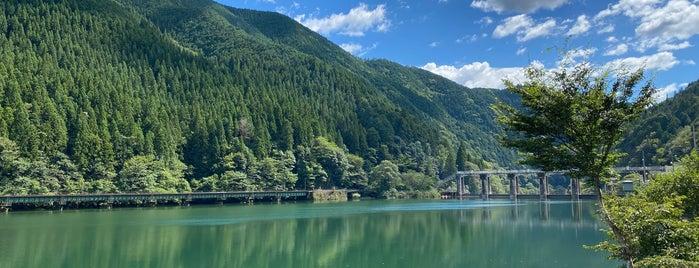 下原ダム is one of 高井 : понравившиеся места.