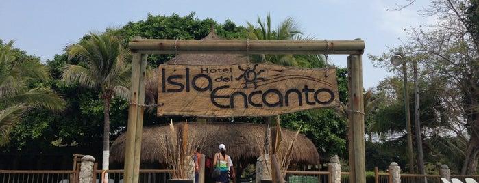 Isla Del Encanto is one of Cartagena de Índias, Colombia.