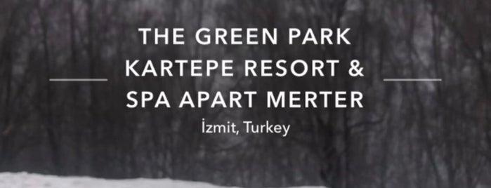 The Green Park Kartepe Resort & Spa Apart Merter is one of Posti che sono piaciuti a Selvi.