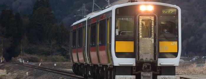 Yatagawa Station is one of JR 미나미토호쿠지방역 (JR 南東北地方の駅).