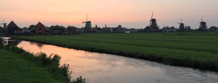 Zaanse Schans is one of AMS.