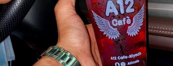 A12 CAFÈ is one of Queen'in Kaydettiği Mekanlar.