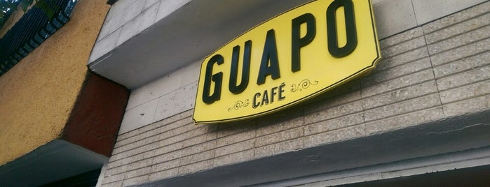 Guapo Café is one of [To-do] DF.