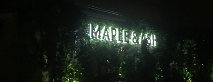 Maple & Ash is one of ARIZONA\NEW MEXICO_ME List.