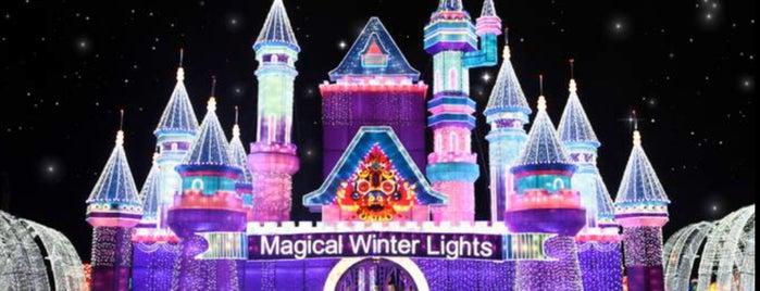 Magical Winter Lights is one of Lugares favoritos de Yolis.