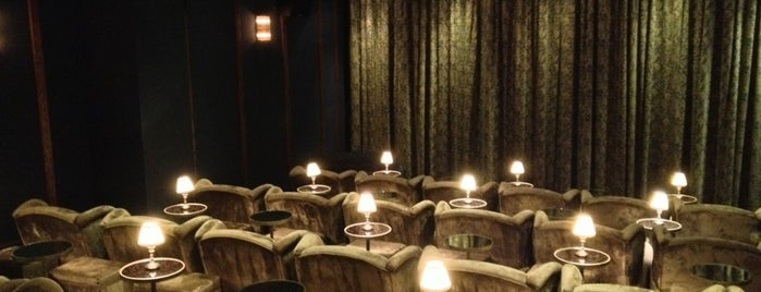 Soho House Screening Room is one of NY city spots.