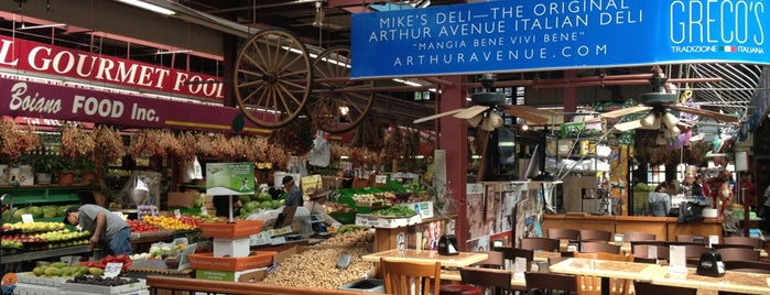 Arthur Avenue Retail Market is one of 40 Top-Rated Food Halls in the U.S..