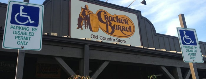 Cracker Barrel Old Country Store is one of Eating.