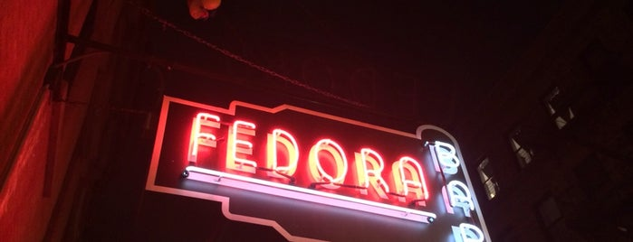 Fedora is one of Manhattan.