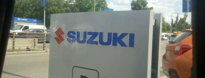 СТО Suzuki is one of Orte, die Marat gefallen.