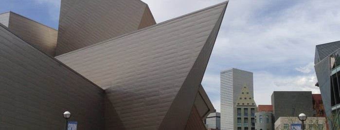 Denver Art Museum is one of RoadTrip USA.