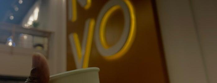 NOVO is one of Coffee shops   Riyadh ☕️🖤.
