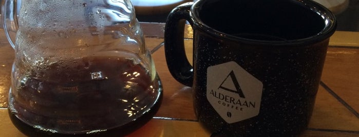 Alderaan Coffee is one of Austin!.