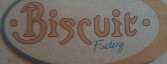 Biscuit Factory Café Bistro is one of Tempat yang Disimpan Ronal.