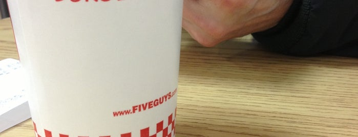 Five Guys is one of Omaha Burger Joints.