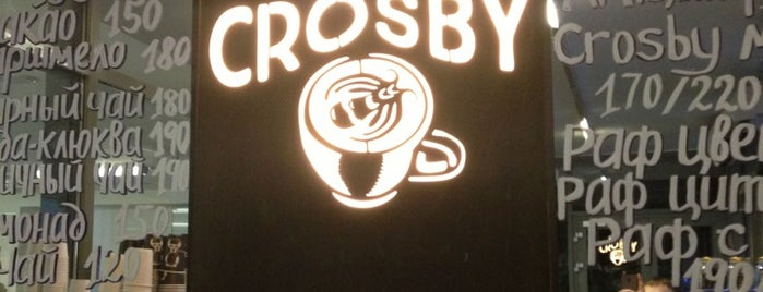 Roast & Crosby is one of Coffe in the Mcity.