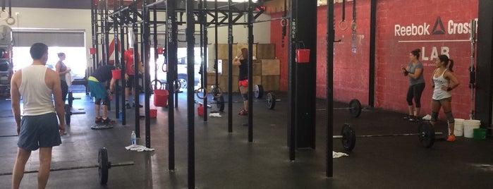 Reebok CrossFit LAB is one of LOS ANGELES | 🇺🇸.