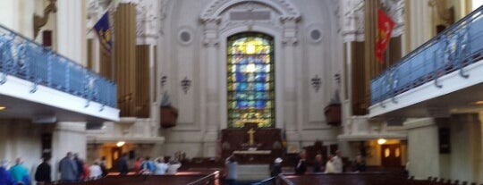 Naval Academy Chapel is one of Lugares favoritos de Christopher.