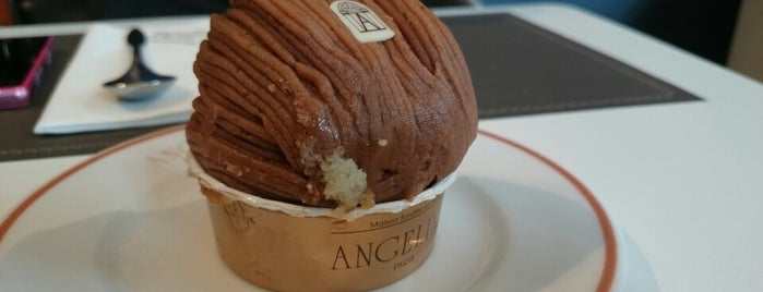 Café Richelieu – Angelina is one of Bakery in Paris.