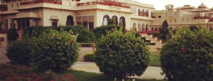 Rambagh Palace Hotel is one of Jaipur.