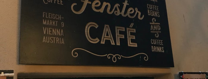 Fenster Cafe is one of Vienna.