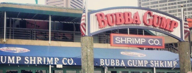 Bubba Gump Shrimp Co. is one of DC Restaurants.