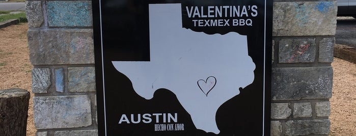 Valentina's Tex Mex BBQ is one of Texas Monthly's Top 50 BBQ Joints in Texas.
