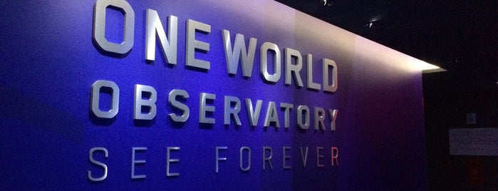 One World Observatory is one of Places Anish Should Go To.